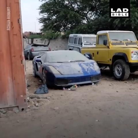 Lamborghini vut chong cho o Dubai, ban xac chi 4.000 bang Anh hinh anh