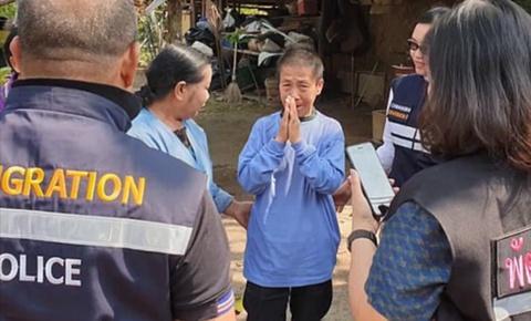 Đi thăm con, người mẹ lạc hơn 600km từ Thái Lan sang Trung Quốc
