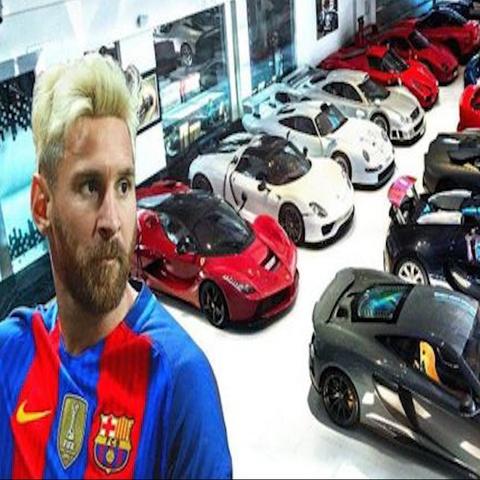 Messi co luong thang 10 trieu USD, gap doi Ronaldo hinh anh
