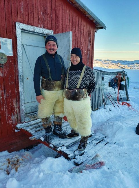 Cuoc di san hai cau bang xe cho keo voi dan ban dia Greenland hinh anh 36
