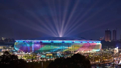 Bukit Jalil - dang cap cua chao lua dien ra tran chung ket AFF Cup hinh anh 2