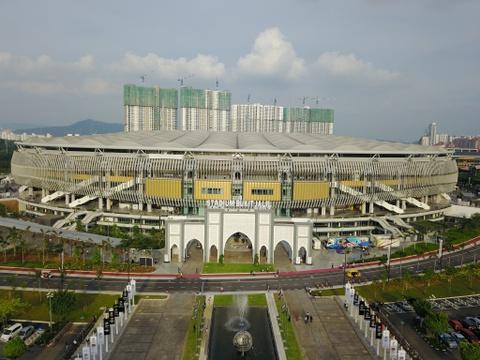 Bukit Jalil - dang cap cua chao lua dien ra tran chung ket AFF Cup hinh anh 1