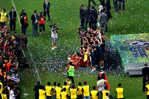 Bukit Jalil - dang cap cua chao lua dien ra tran chung ket AFF Cup hinh anh 8