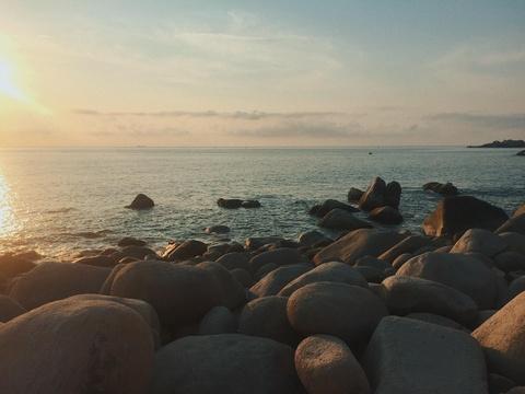 Nap 'vitamin sea' o thien duong bien Binh Hung dip nghi le hinh anh 8