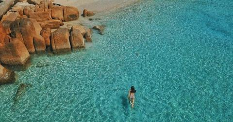 Nap 'vitamin sea' o thien duong bien Binh Hung dip nghi le hinh anh 4