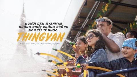 Nguoi dan Myanmar cuong nhiet xuong duong don Tet te nuoc hinh anh 1