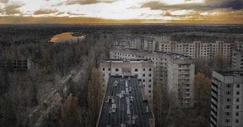 Thiên đường trong vùng đất chết sau 33 năm thảm họa hạt nhân Cherbonyl
