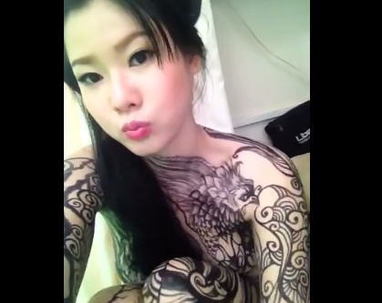 Hani ve body painting hinh anh