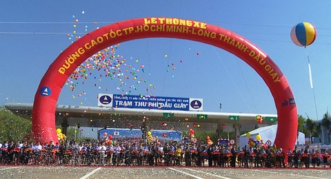 Le thong xe duong cao toc hien dai nhat Viet Nam hinh anh