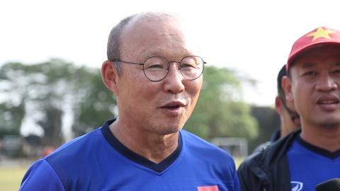 HLV Park Hang-seo: 'Chung toi khong tranh gap Han Quoc' hinh anh