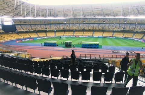 Mot vong san Bukit Jalil truoc chung ket luot di AFF Cup hinh anh