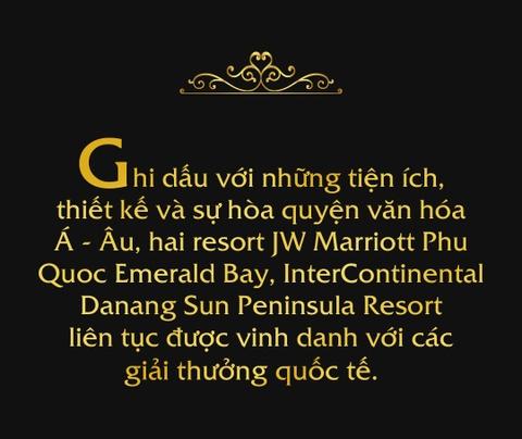 Hai resort Viet duoc vinh danh tai 'giai Oscar' cua du lich the gioi hinh anh 1