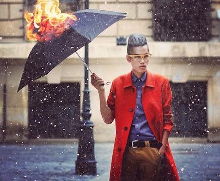 Hot lookbook-er nguoi Viet duoc len FashionTV hinh anh