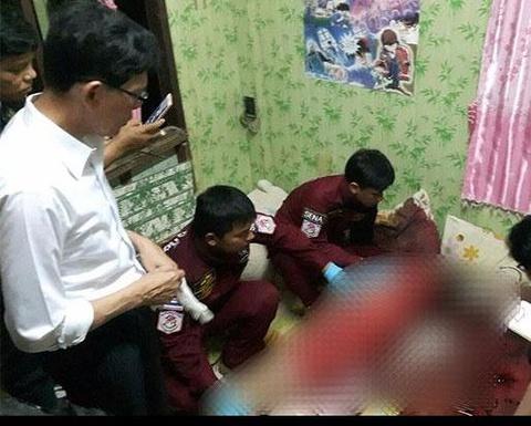 Nguoi chong o Thai Lan ban chet vo trong 'tro choi tu than' hinh anh