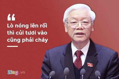 Tong bi thu tra loi phong van dip xuan Mau Tuat: Long dan - The nuoc hinh anh