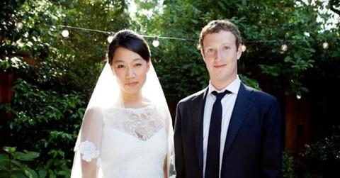 Bong hong sau ty phu: Co vo kem xinh cua ong chu Facebook hinh anh