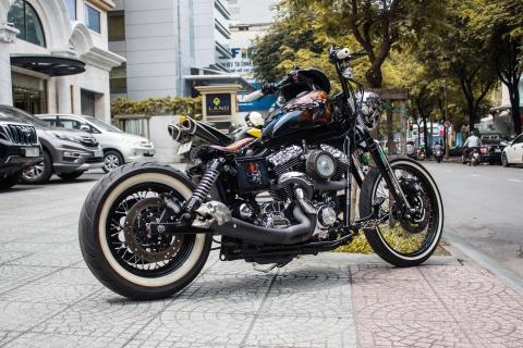 Harley-Davidson do phong cach Halloween tai Sai Gon hinh anh