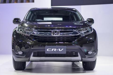 Anh thuc te Honda CR-V 7 cho vua ra mat hinh anh 1