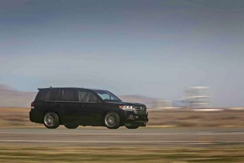 Toyota Land Cruiser do chay 370 km/h hinh anh