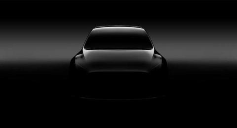 He lo mau SUV co nho Tesla Model-Y hinh anh