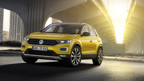Volkswagen T-Roc ra mat tai Italy hinh anh
