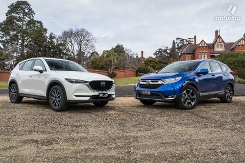 So sanh Honda CR-V va Mazda CX-5 2017 hinh anh