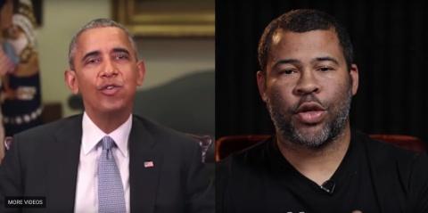 Video gia mao ong Obama noi xau TT My Donald Trump gay kinh ngac hinh anh
