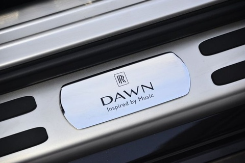 """Rolls-Royce Dawn """"Inspired by Music"""" sieu sang co kha nang choi nhac hinh anh"""