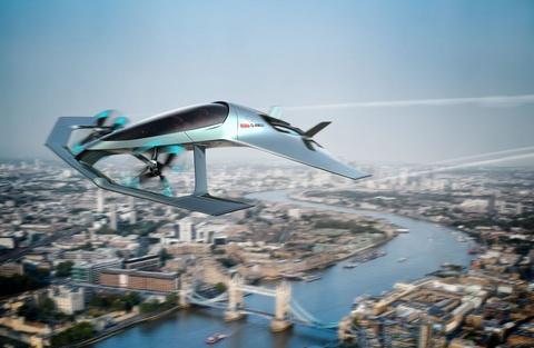 Concept xe bay tuyet dep cua Aston Martin hinh anh