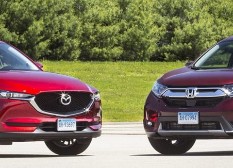 Honda CR-V dua voi Mazda CX-5: SUV nao tot hon? hinh anh
