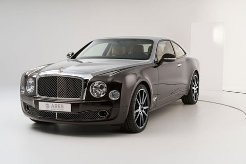 Chi 500.000 USD de do sedan Bentley thanh coupe hinh anh