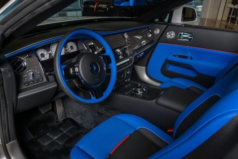 Rolls-Royce Dawn phoi mau doc dao o Abu Dhabi hinh anh 4