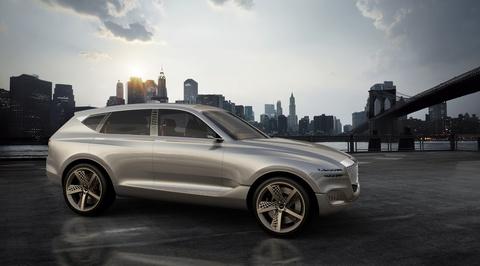 Hyundai Sonata, Genesis SUV moi se ra mat cuoi nam 2019 hinh anh
