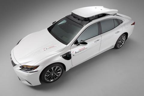 Toyota ra mat xe tu lai sieu cap tai CES 2019 hinh anh