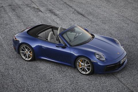 Mui tran Porsche 911 Cabriolet 2020 lo dien hinh anh