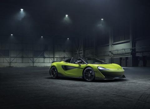 Sieu xe mui tran McLaren 600LT Spider trinh dien hinh anh