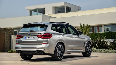 Vua lo dien, BMW X3 M va X4 M moi da co ngay ban hieu suat cao hinh anh 12