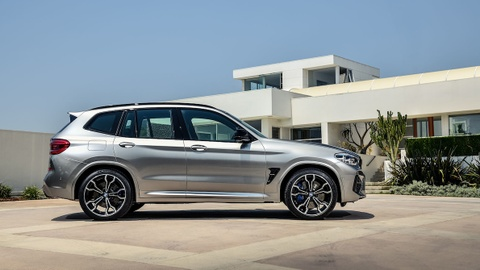 Vua lo dien, BMW X3 M va X4 M moi da co ngay ban hieu suat cao hinh anh 13