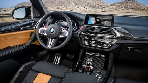 Vua lo dien, BMW X3 M va X4 M moi da co ngay ban hieu suat cao hinh anh 14