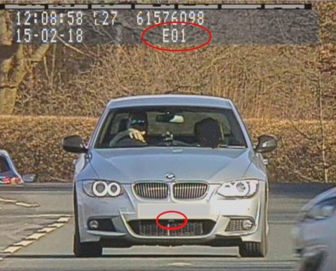 Gây nhiễu camera bắn tốc độ, doanh nhân bị phạt ba tháng tù