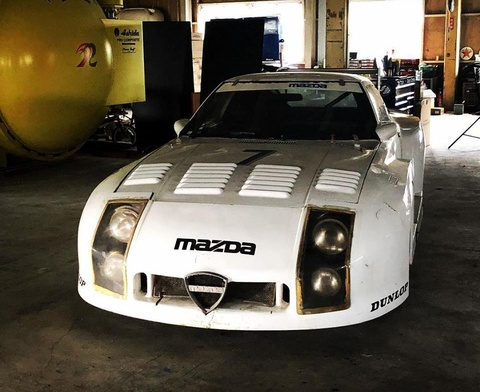 Bat ngo tim thay sieu xe dua Mazda 254i sau 35 nam hinh anh 3