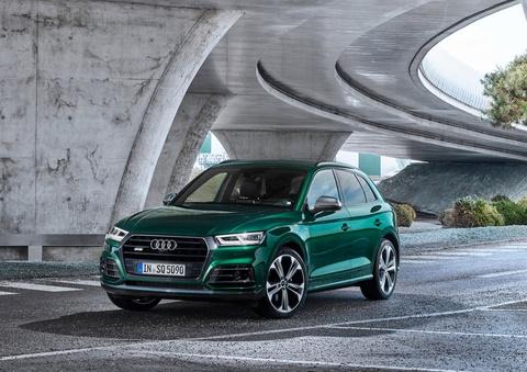 Audi SQ5 TDI 2019 ra mat, mo-men xoan ngang sieu xe hinh anh 1