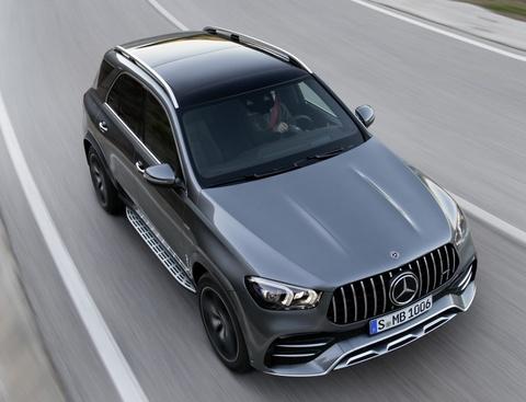 Mercedes-AMG GLE 53 4MATIC+ moi lo dien, diem nhan o dong co hinh anh 4
