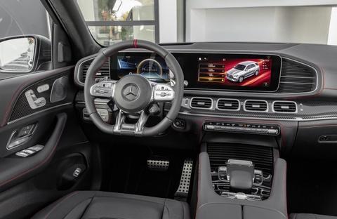 Mercedes-AMG GLE 53 4MATIC+ moi lo dien, diem nhan o dong co hinh anh 6