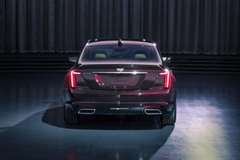 Lo dien sedan moi cua Cadillac se doi dau Mercedes-Benz E-Class hinh anh 2