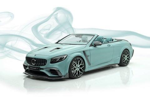 Mui tran Mercedes-AMG S63 do lai nhu vien keo bac ha hinh anh 1