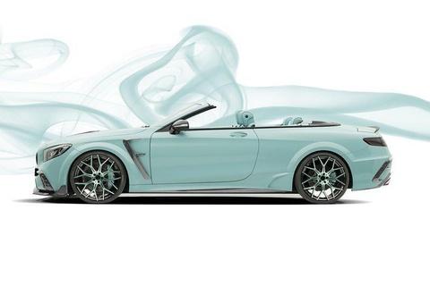 Mui tran Mercedes-AMG S63 do lai nhu vien keo bac ha hinh anh 8