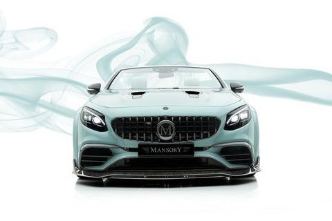 Mui tran Mercedes-AMG S63 do lai nhu vien keo bac ha hinh anh 2