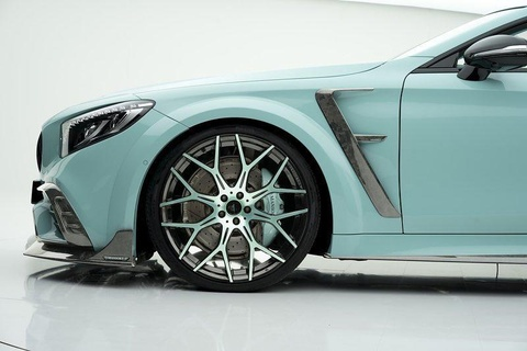 Mui tran Mercedes-AMG S63 do lai nhu vien keo bac ha hinh anh 3