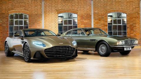 Aston Martin ra mat sieu xe vinh danh 'Diep vien 007' hinh anh 1